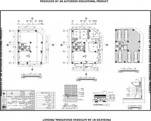 نقشه مجتمع مسکونی